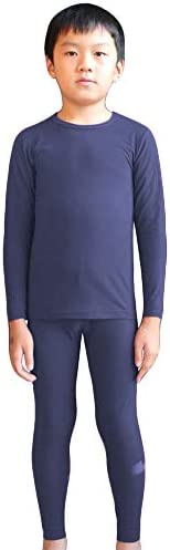 LANBAOSI Kids Underwear Ultra Soft Long Johns Cool Dry Top & Bottom Winter
