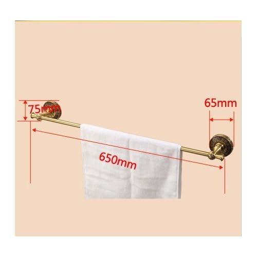 low-cost Brass European-wide Towel Bar/Bathroom Accessories/Antique Towel Bar-A