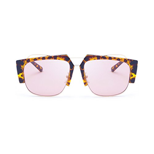 Europa de UV400 End Decoración Unisex ocular Protección Color Gafas Metal de Creativa Personalidad B A High América sol la moda Anti Gafas Weight30g WLHW nW4Zx6