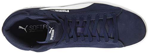 puma Puma White Zapatillas Unisex Azul V2 peacoat Smash Adulto 04 Altas Mid Sd qPqvpfr