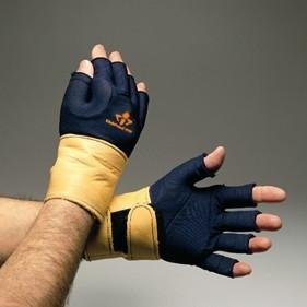 Impacto Ergonomic Anti-Impact Glove Liner with Wrist Support - XL - Right Hand