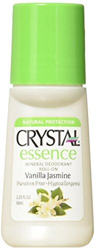 Crystal Deodorants Roll On - Essence - Vanilla Jasmine - 2.2