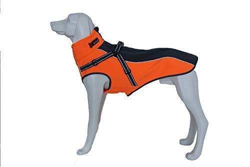 DENTRUN Dog Vest Coat Winter Cold Weather Jacket Sweater,Pet Cats Jeans Cool Denim