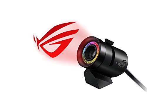 ASUS RGB Logo Projector with Magnetic Stand (USB) for Aura Sync Lighting Products and Software, Black (ROG Spotlight)