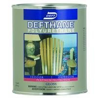 - Defthane Interior/Exterior Finish - Gloss - One Gallon