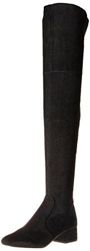 Dolce Vita Women's Jorden Over The Knee Boot, Black Stella Suede, 8.5 Medium US (Dolce Vita Boots)