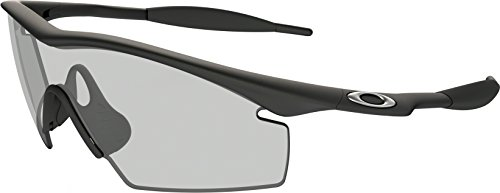 Oakley Men's Industrial M Frame,Matte Black Frame/Clear Lens,one - M Frame Sunglasses Oakley