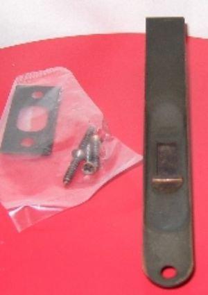 Bolton Hardware Dark Oil Rubbed Bronze Flush Bolt with ro...