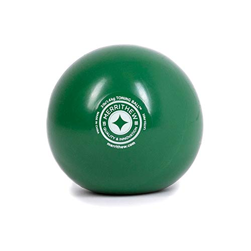 (STOTT PILATES Toning Ball (Green), 3 lbs / 1.4 kg)
