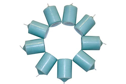 Enlightened Ambience Blue Water Scented Blue Votive Candles 10 Pack ()