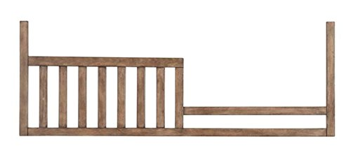 Westwood Design Pine Ridge/Stone Harbor Toddler Rail Conversion Kit, Cashew - Pine Rails