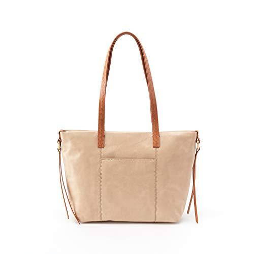- Hobo Leather Cecily Top Handle Shoulder Bag (Parchment)