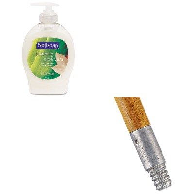 KITCPM26012EARCP6364 - Value Kit - Rubbermaid Lacquered-Wood Threaded-Tip Broom/Sweep Handle (RCP6364) and Softsoap Moisturizing Hand Soap w/Aloe (CPM26012EA)