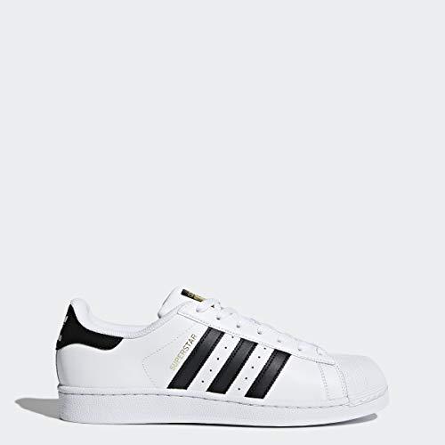 adidas Originals Men's Superstar Shoe Running Core Black/White, 11 M US
