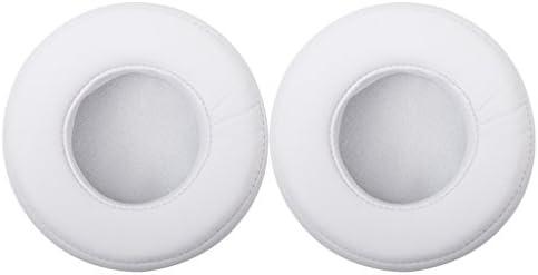 gazechimp 2ピース/個白耳パッドクッションカバー交換モンスタービートPRO/DETOXヘッドフォン