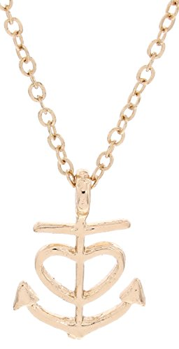 Nautical Jewelry Love You More Heart Anchor Necklace Fashion Rose Gold-Tone Link Chain Necklace Jewelry Box Keepsake Gift Boating Girlfriend by Gift Jewelry By Rachel Olevia (Image #4)