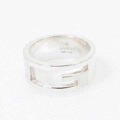 グッチ ロゴリング 指輪 11号 925 [新品同様](中古) B074TSVKTT