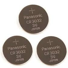 Price comparison product image Panasonic Battery, Lithium Button Cell Br3032- Br 3032 (3 Pieces)