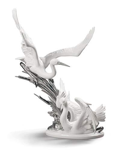 Lladro Cranes Re-Deco Figurine 01009090