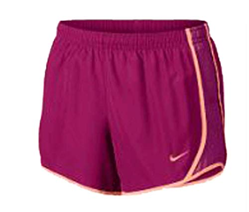 Girls' Nike Dry Tempo Running Short Raspberry/Grape Size XL by NIKE