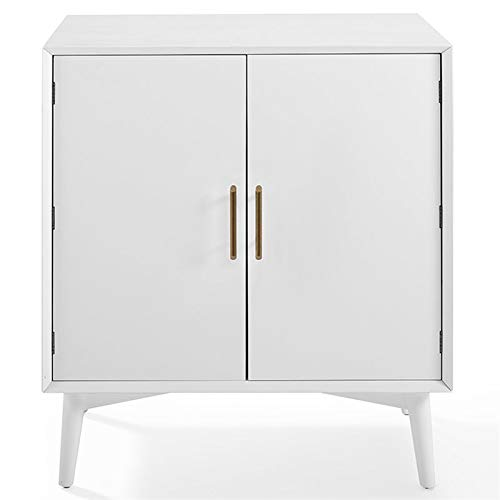 Crosley Furniture CF4403-WH Landon Mid-Century Modern Bar Cabinet, White by Crosley Furniture (Image #2)