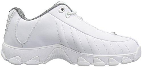 Blanc Blanc Femmes K Sneaker Cmf Vert Brooke suisse Stingray St329 xqHPw1v