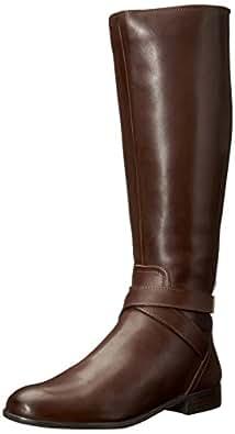 Franco Sarto Women's Majesta Knee High Boot, Brown, 5 M US