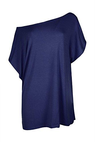 Star Fashion - Camiseta sin mangas - para mujer Azul Marino