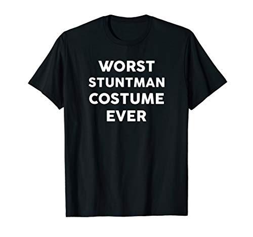 Stuntman Halloween Costume (Worst STUNTMAN Costume Ever Halloween Simple STUNTMEN)
