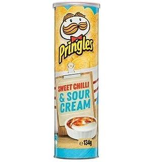 Pringle de chiles dulces y crema agria 134g