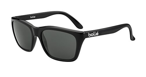 (Bolle 527 Sunglasses, Shiny Black/TNS)