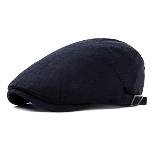 Sombrero Simple GLLH de hat Color Sombrero Moda Sombreros Sombrero qin Delantero B Gorra sólido de de Moda Boina D H1PwE1