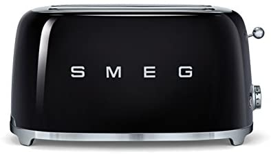 Smeg 4 Slice Toaster - Black