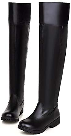 Adult Men's Cos-play Knee-high Boot Riding Boots (7.5)