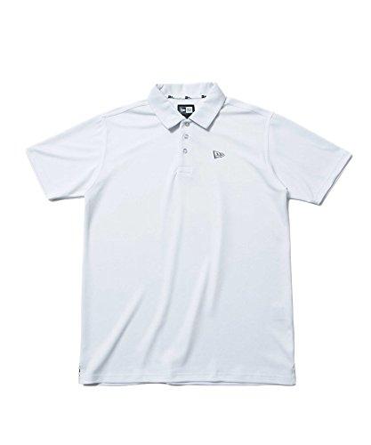 NEW ERA(ニューエラ) ニューエラ ゴルフ ポロシャツ ホワイト(11403802) 日本正規品 ニューエラ ゴルフウェア newera ゴルフ ポロシャツ