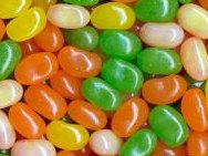 Jelly Belly Sunkist Citrus Mix Jelly Beans 1LB -