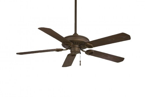 Sundowner Outdoor Fan - Minka-Aire F589-ORB, SunDowner Oil-Rubbed Bronze Energy Star 54 inch Outdoor Ceiling Fan