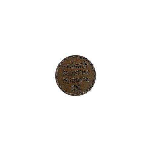 1927 IL Israel Palestine 1 mil Mint State - Palestine Coin