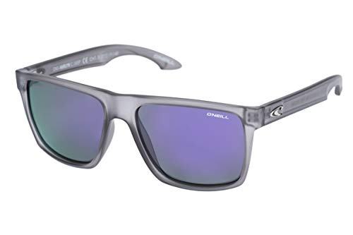 O'Neill Harlyn Polarized Square Sunglasses, Matte Gray Crystal, 56 ()