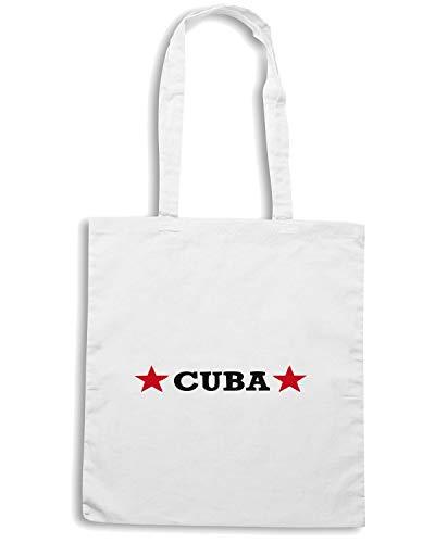 Speed Shirt Borsa Shopper Bianca TCO0116 CUBA