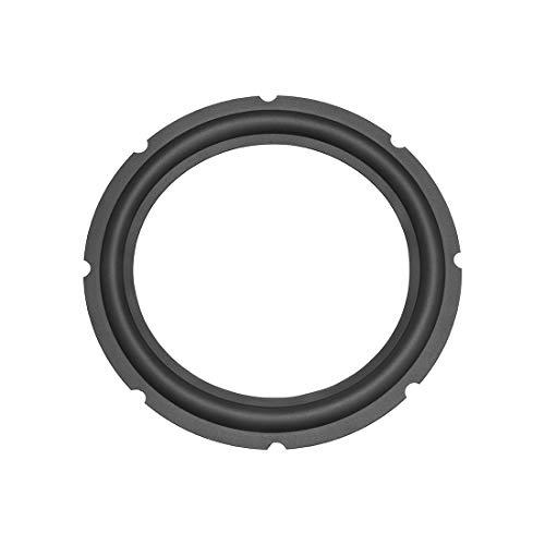 uxcell 穴あきゴムスピーカーエッジ サラウンドリング DIY スピーカー修理用 直径245mm