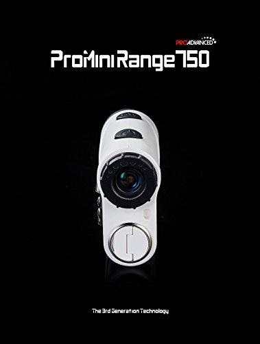 ProMini Range 750 - Laser Rangefinder - Golf Range Finder - 2 Year Warranty - Father's Day by ProAdvanced (Image #1)
