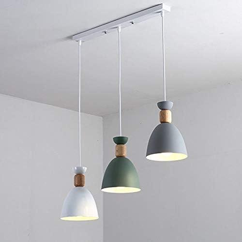 Z.L.FFLZ Chandelier LED Chandelier Scandinavian Style Wooden Hallway Chandelier Bar Restaurant Hanging Lamp