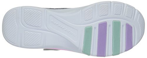 Skechers Kids Girls' Trainer LITE- Jazzy Jumper Sneaker, GYMT, 13 Medium US Little by Skechers (Image #3)