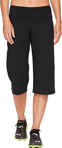 Capris Brooks Womens (Brooks Women's Greenlight Relaxed Capri Pants Black Medium)