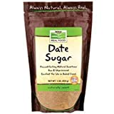 Date Sugar, 1 lb by Now Foods (Pack of 6)