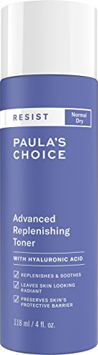 Paulas Choice-RESIST Advanced Replenishing Anti-Aging Toner w/Vitamins C & E & Antioxidants-Face Toner-Normal-Very Dry Skin-4 oz Bottle