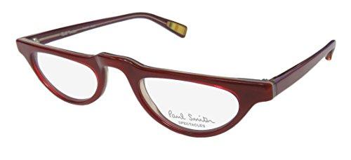 Paul Smith 274 Womens/Ladies Designer Full-rim Eyeglasses/Glasses (45-22-140, Bordeaux) (Designer Geek Frames)