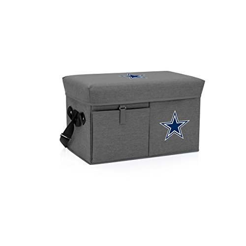 NFL Dallas Cowboys Ottoman Insulated Collapsible Cooler/Picnic Tote
