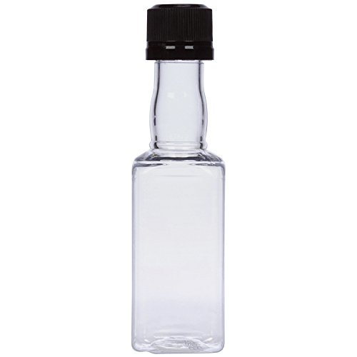 Square Mini Bottles plastic alcohol product image